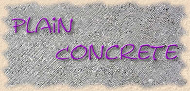Plain Concrete
