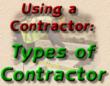types of contractor