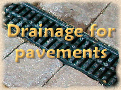 drainage for pavements