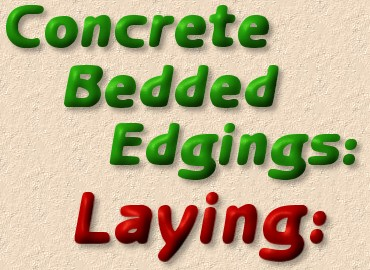 laying edge courses