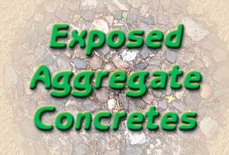 exposed aggregate concretes