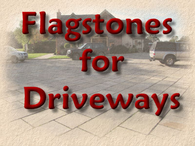 flagstones for driveways