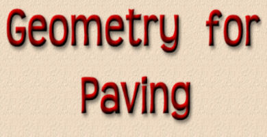 geometry for paving