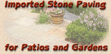 imported stone paving