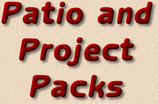 patio and project packs