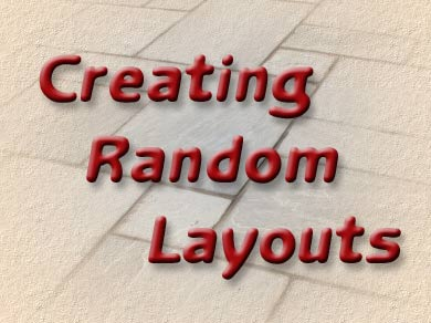 Pavingexpert - Creating Random Layouts