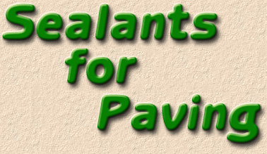sealants for paving