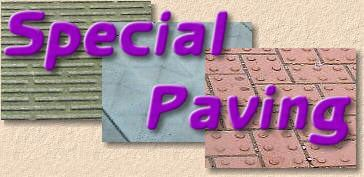 special paving