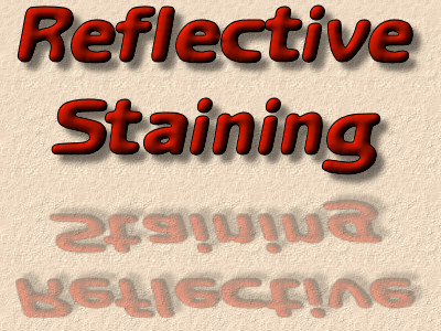 reflective staining