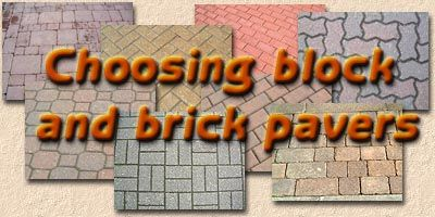 Choosing Block and Brick Paving