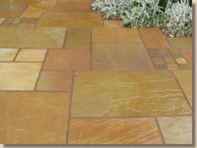 raj sandstone in the wet