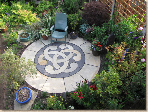 decorative patio stone