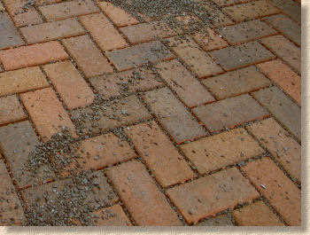 permeable clay paving