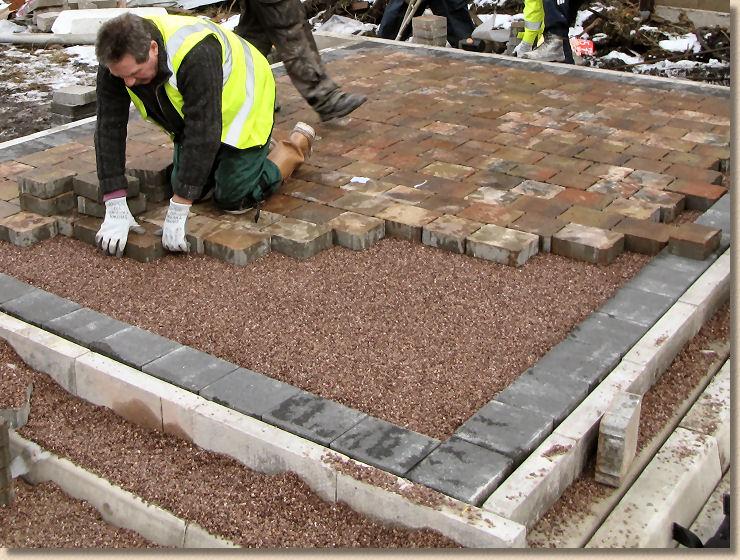 Pavingexpert Concrete Block Permeable Pavement Installation