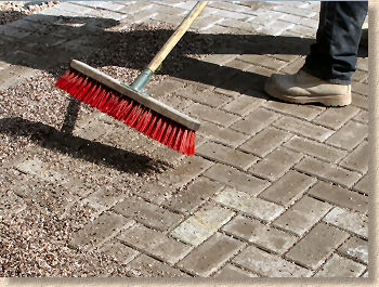 jointing permeable paving