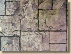 ashlar effect concrete