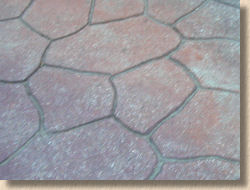 crazy paved effect concrete