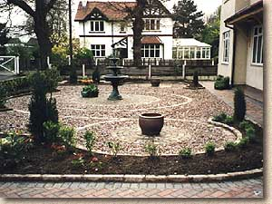 Pavingexpert portfolio of construction work for Hard landscaping ideas
