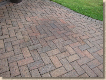 how to clean oil off concrete pavers