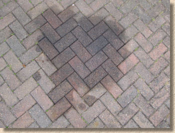 Pavingexpert block paving refurbishment oil stain removal for Cleaning oil off cement