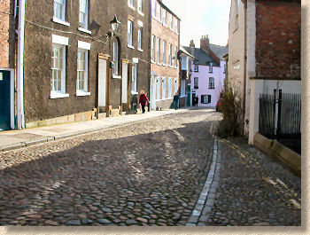 Durham'daki Arnavut kaldırımları