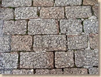penzance granite setts