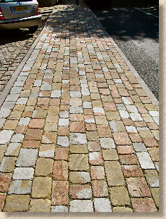 tumbled stone pavers