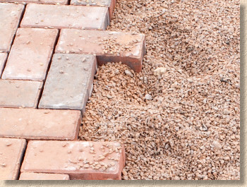 bedding for permeable paving