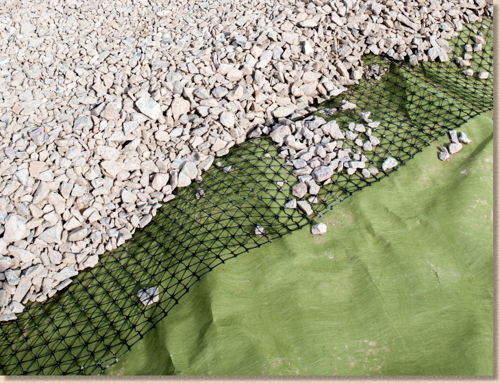 geotextile and geo-grid
