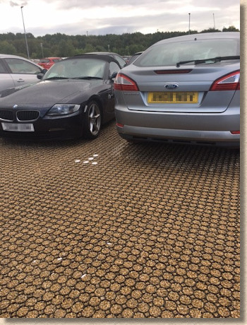 cellpave 40 in car park