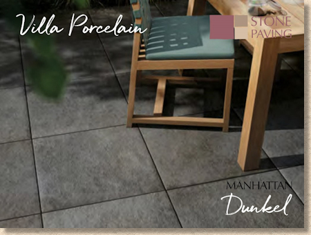 Manhattan Dunkel Porcelain Paving