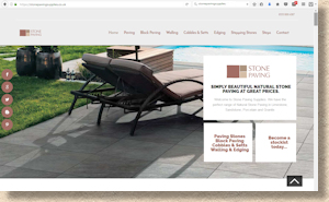 Stone Paving Supplies website