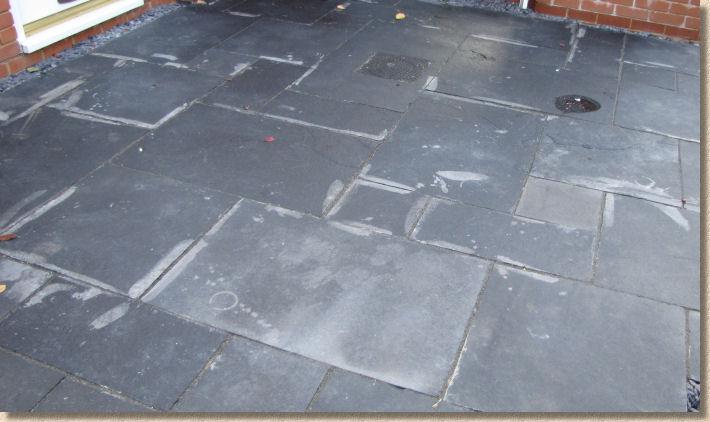 Acid Bleached Black Limestone