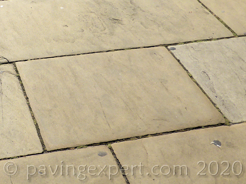 smooth reclaimed yorkstone