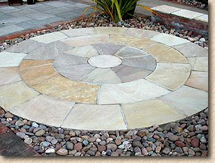 Garden Stone Circles Paving expert imported stone paving for patios and gardens mint circle from kb global stone workwithnaturefo