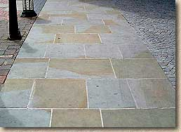 new yorkstone paving