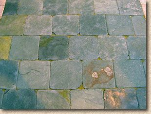Tumbled Slate Pavers