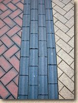 guidance blue paver