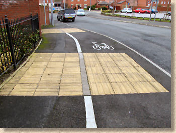 cycleway paving