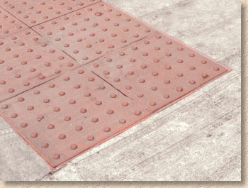 surface mounted blister paving