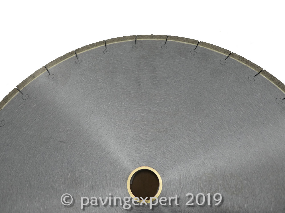 continuous rim blade for cutting porcelain