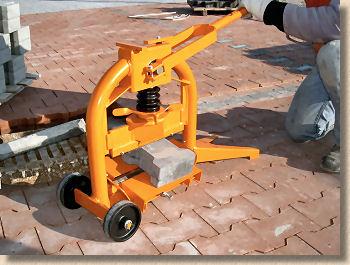 China manual portable concrete block splitter fsb32 china.