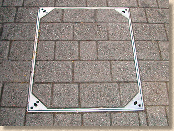 stainless steel recess tray